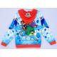 J3G1A02 เสื้อกันหนาว Size 4    2-3 ขวบ ลายลิขสิทธิ์ Angry Birds ลายแองกี้เบิร์ด โทนสีน้ำเงิน/ขาว/แดง