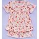 G0C1X03 Size 1 อายุ 6-12 เดือน ลายกระต่ายน้อยกับหัวใจ พื้นสีชมพู