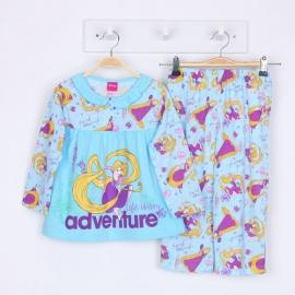 G0A1P66 Size 1 อายุ 6-12 เดือน ลายลิขสิทธิ์ Disney Princess ลายเจ้าหญิงซินเดอเรล่า Midnight curfew โทนสีฟ้า