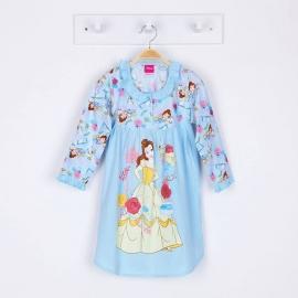 G7E1A60 ยืด+วู่เว่น Size 16 อายุ11-12 ขวบ ลายลิขสิทธิ์ Disney Princess ลายเจ้าหญิงโฉมงามกับเชิงเทียน โทนสีชมพู