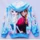 G21JP09 Size 3 อายุ2-3 ขวบ เสื้อกันหนาว Fozen ลายเจ้าหญิงแอลซ่ากับโอราฟ โทนสีฟ้า