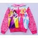 G6JP11 Size XL อายุ 8-9 ขวบ เสื้อกันหนาวลิขสิทธ์ Disney ลายรวมเจ้าหญิง โทนสีชมพู