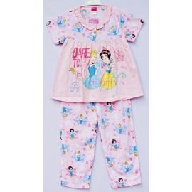 G3B1P16 Size 6 อายุ 4 ขวบ ลายลิขสิทธิ์ Disney Princess ลายเจ้าหญิงซินเดอเรล่ากับสโนไวท์ DARE TO dream โทนสีชมพู